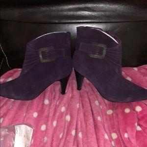 Brand new purple bootie